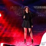 Sanremo 2015 3 serata Annalisa Scarrone abito Just Cavalli