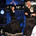 Sanremo 2015 3 serata Arisa abito Daniele Carlotta