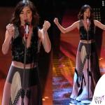 Sanremo 2015 3 serata Bianca Atzei abito Antonio Marras