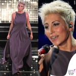 Sanremo 2015 3 serata Malika Ayane abito Albino