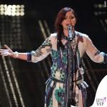Sanremo 2015 4 serata Annalisa Scarrone abito Roberto Cavalli