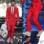Sanremo 2015 4 serata Nesli abito Philipp Plein scarpe OXS 2