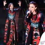 Sanremo 2015 5 serata Annalisa Scarrone abito Roberto Cavalli 8