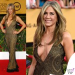 Screen Actors Guild Awards Jennifer Aniston abito John Galliano collana Amrit 6