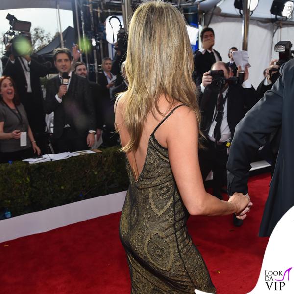 Screen Actors Guild Awards Jennifer Aniston abito John Galliano collana Amrit 7
