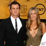 Screen Actors Guild Awards Justin Theroux Jennifer Aniston abito John Galliano collana Amrit