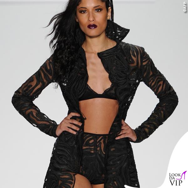 sfilata Michael Costello Art Hearts Fashion 2015 11