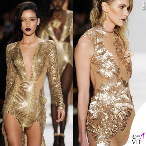 sfilata Michael Costello Art Hearts Fashion 2015 18