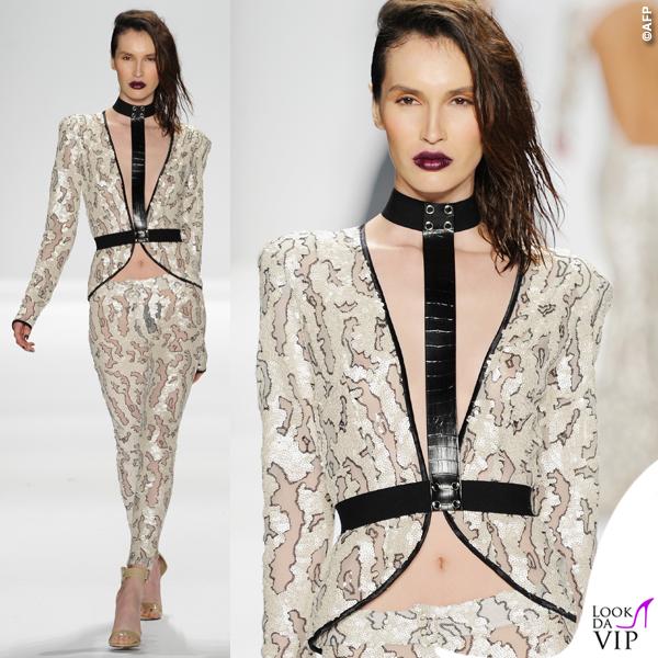 sfilata Michael Costello Art Hearts Fashion 2015 2