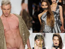sfilata Michael Costello Art Hearts Fashion 2015