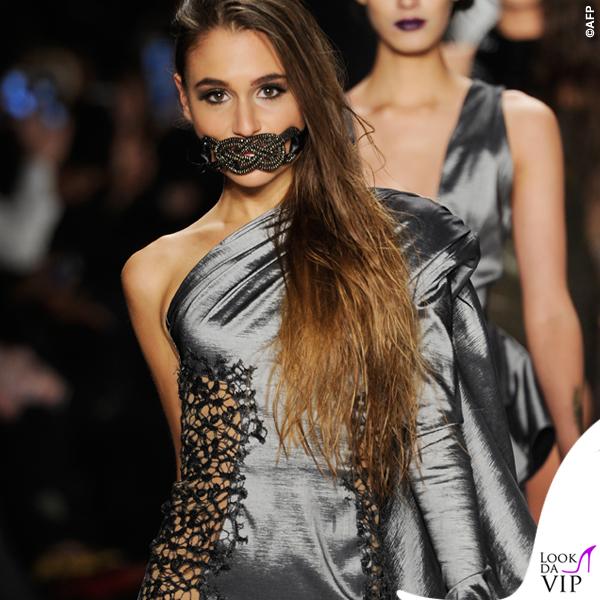 sfilata Michael Costello Art Hearts Fashion 2015 4