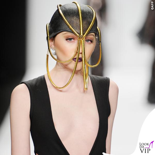 sfilata Michael Costello Art Hearts Fashion 2015 5