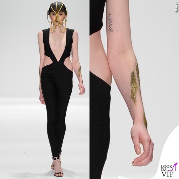sfilata Michael Costello Art Hearts Fashion 2015 6