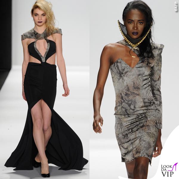 sfilata Michael Costello Art Hearts Fashion 2015 9