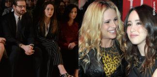 Aurora Ramazzotti MFW sfilate Trussardi Versace John Richmond