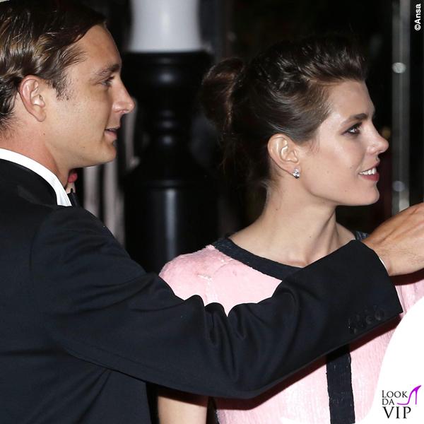 Ballo della Rosa 2015 Pierre Charlotte Casiraghi abito Chanel HC