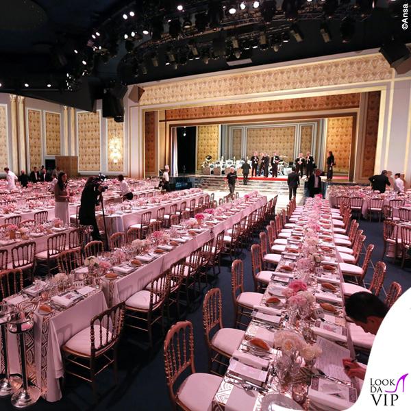Ballo della Rosa 2015 tavoli