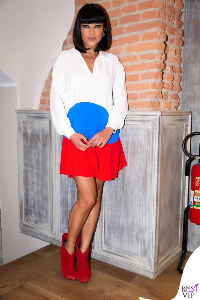 Ana Laura Ribas compleanno abito Mauro Grifoni borsa Mia Bag scarpe Giuseppe Zanotti 4