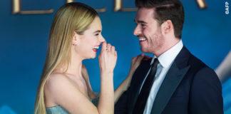 Cenerentola Lily James Richard Madden UK Premiere