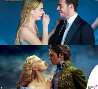 Cenerentola Lily James Richard Madden UK Premiere