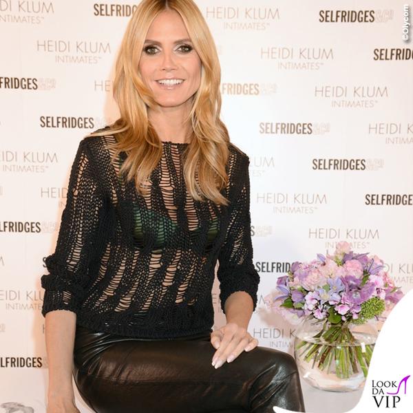 Heidi Klum Londra lingerie Heidi Klum Intimates 4