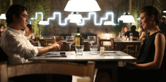 Jasmine Trinca Riccardo Scamarcio Nessuno si salva da solo total Armani