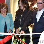 MFW Rocio Munoz Morales evento Ballin abito Roberto Cavalli scarpe borsa Ballin