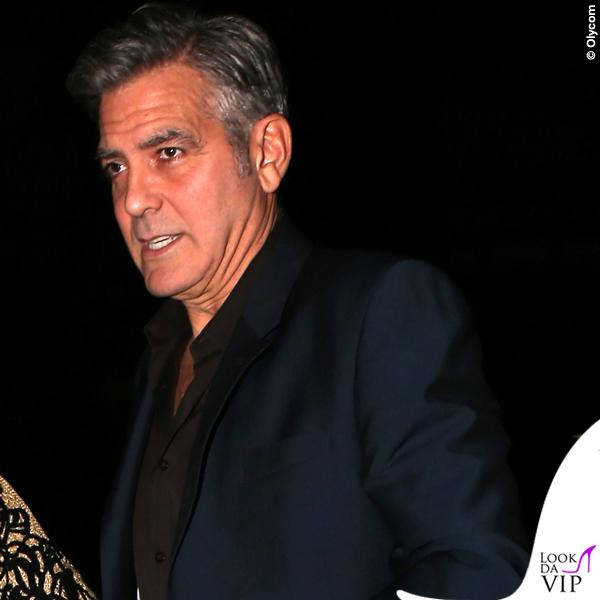 George Clooney ristorante Caravaggio New York