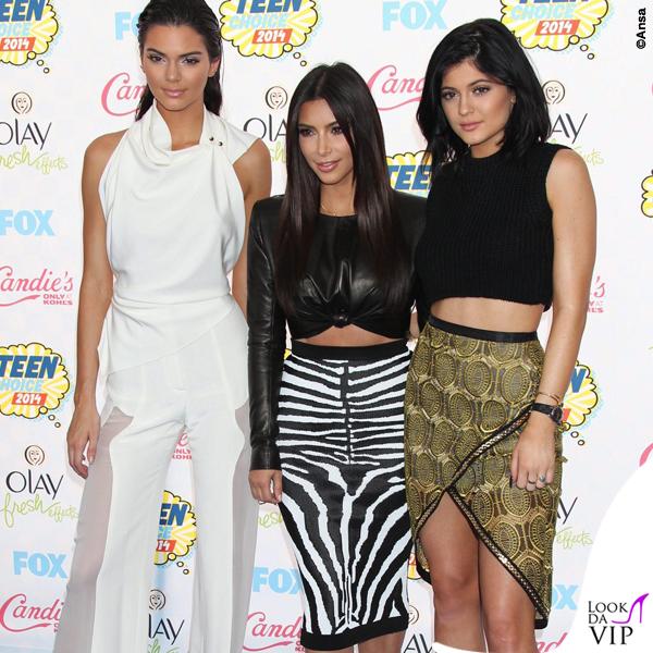 Kendall Jernner Kim Kardashian Kylie Jenner 2