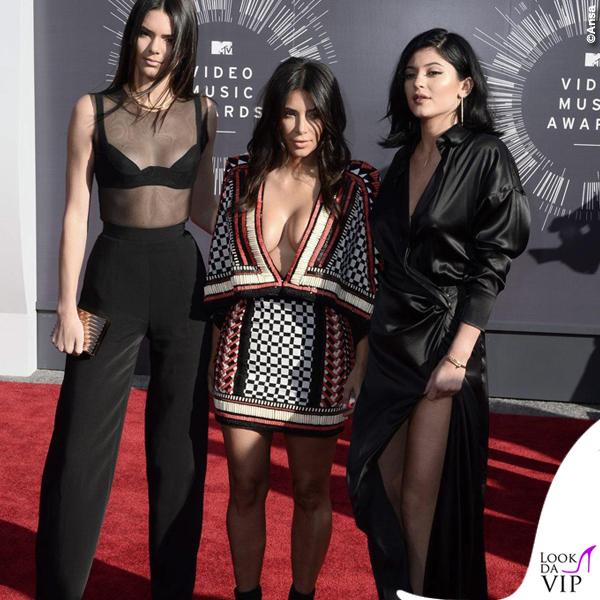 Kendall Jernner Kim Kardashian Kylie Jenner