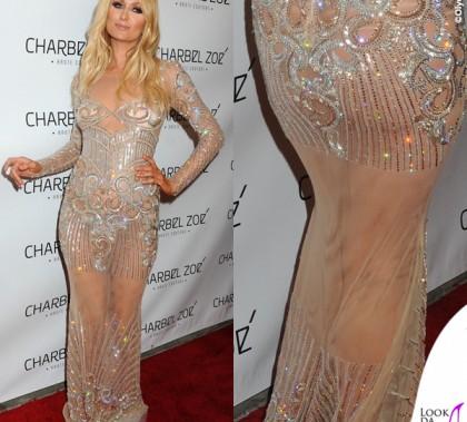 Paris Hilton Charbel Zoe Store Los Angeles abito Charbel Zoe