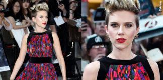 Scarlett Johansson abito Balmain