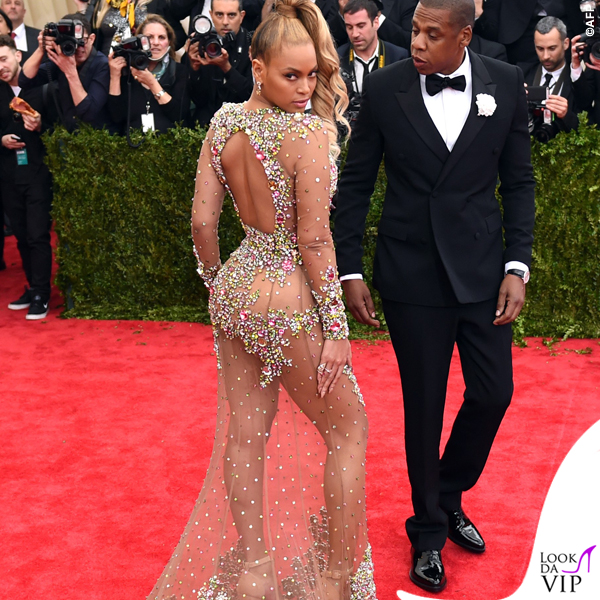 Beyonce Met Gala 2015 abito sandali Givenchy 3