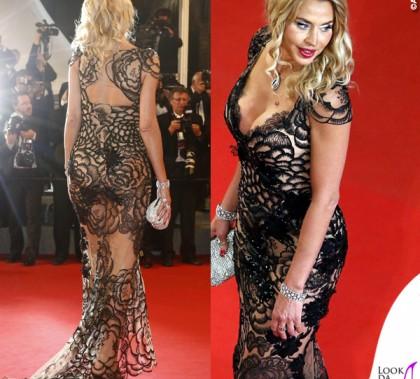 Cannes 2015 Valeria Marini abito Sarli Couture