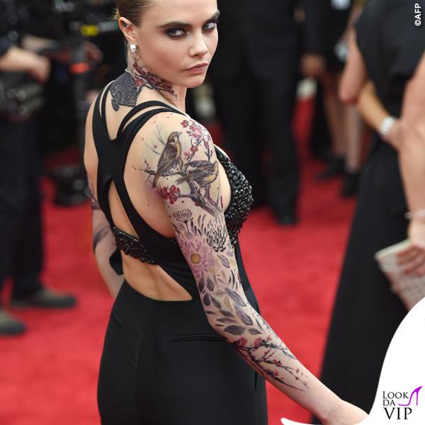 Cara Delevingne Cannes 2015 tuta Stella McCartney