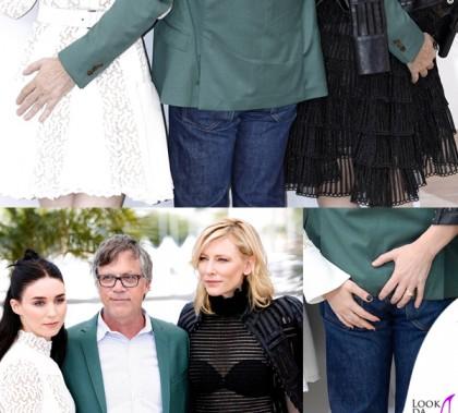 Cate Blanchett Rooney Mara abiti Alexander McQueen Todd Haynes Cannes 2015 photocall Carol