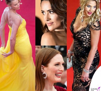 Charlize Theron Salma Hayek Julianne Moore Valeria Marini Cannes 2015
