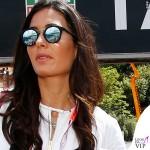 Elisabetta Gregoraci Montecarlo Gran Premio di Formula1 shorts Moschino borsa Celine 2