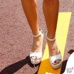 Elisabetta Gregoraci Montecarlo Gran Premio di Formula1 shorts Moschino borsa Celine 3