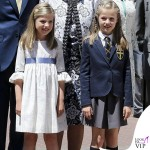 Famiglia Reale di Spagna prima comunione Leonor 4