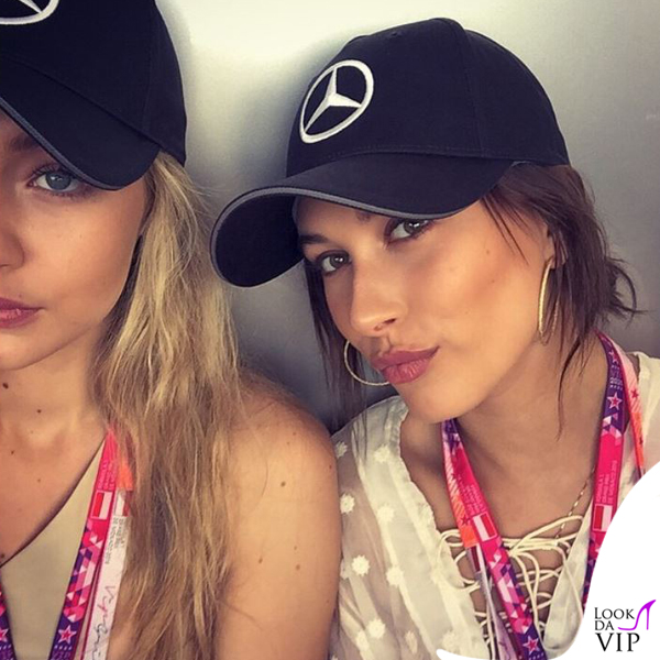 Gigi Hadid Hailey Baldwin Gran Premio di Montecarlo