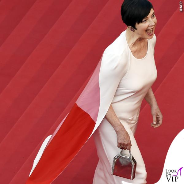 Isabella Rossellini Cannes 2015 abito Stella McCartney