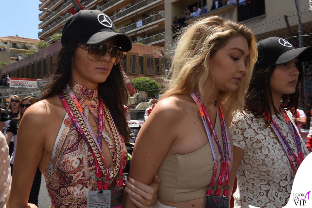 Kendall Jenner Gigi Hadid Gran Premio di Montecarlo 2