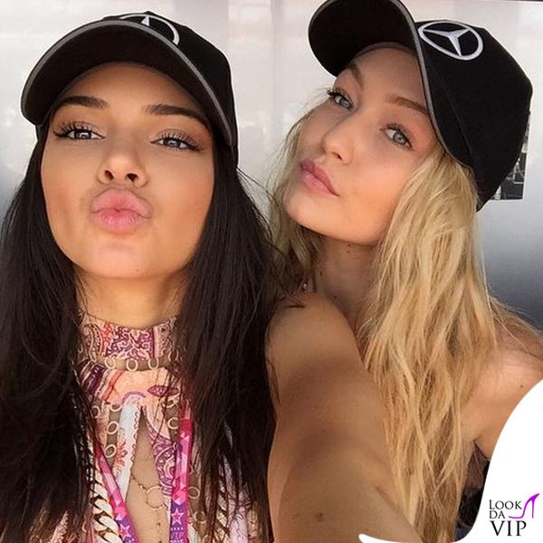 Kendall Jenner Gigi Hadid Gran Premio di Montecarlo