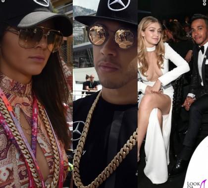 Kendall Jenner Lewis Hamilton Gigi Hadid Costa Azzurra