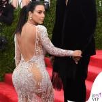 Kim Kardashian Met Gala 2015 abito Roberto Cavalli