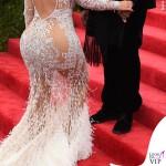 Kim Kardashian Met Gala 2015 abito Roberto Cavalli 2