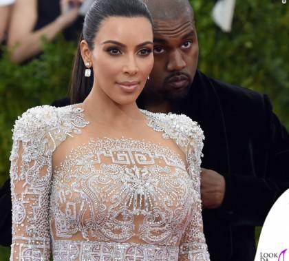 Kim Kardashian Met Gala 2015 abito Roberto Cavalli 3