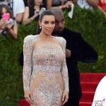 Kim Kardashian Met Gala 2015 abito Roberto Cavalli 5