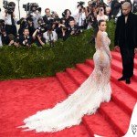 Kim Kardashian Met Gala 2015 abito Roberto Cavalli 9